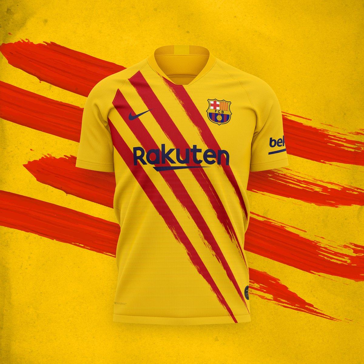 fc barcelona 2019 20 nike senyera kit football fashion fc barcelona 2019 20 nike senyera kit