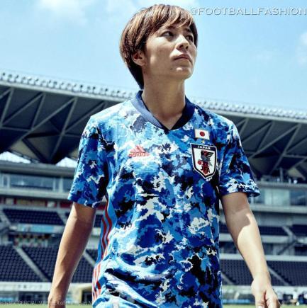 Japan 2020 adidas Home Football Kit, Soccer Jersey, Shirt