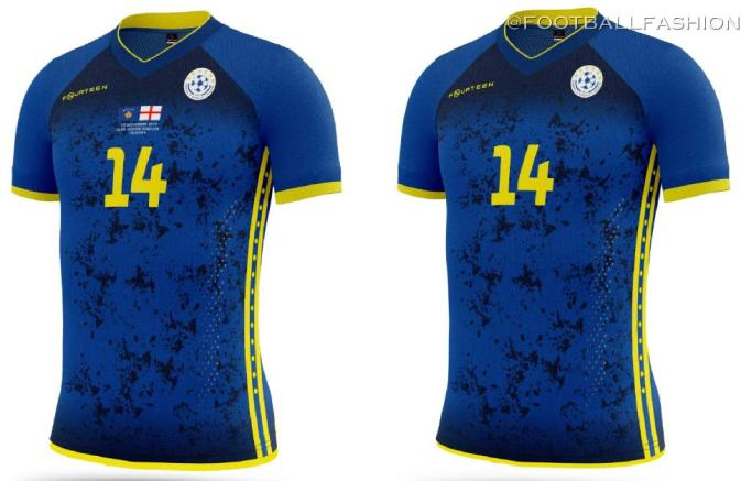 Kosovo Football Kit for England and Czech Republic Matches