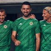 Northern Ireland 2020 2021 adidas Home Football Kit Kit, Soccer Jersey, Shirt