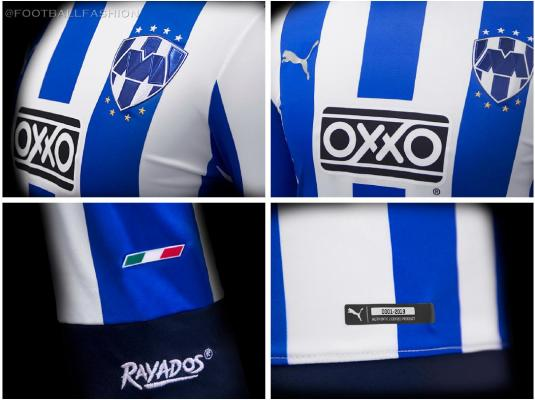 Rayados de Monterrey 2019 FIFA Club World Cup Soccer Jersey, Shirt, Football Kit, Camiseta de Futbol Copa Mundial de Clubes