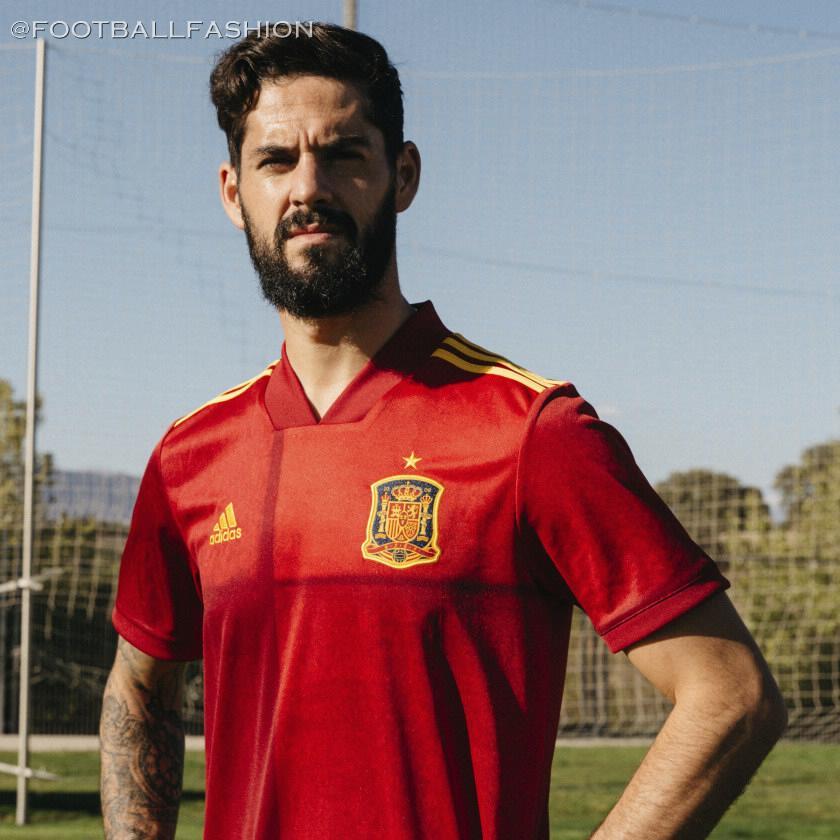 Spain 2020/21 adidas Home Kit - FOOTBALL FASHION