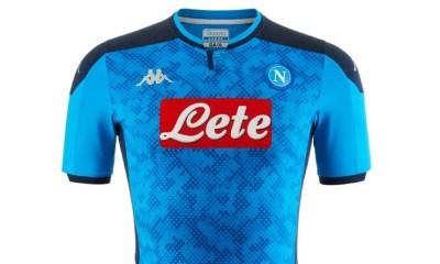 SSC Napoli 2019 2020 UEFA Champions League Kappa Home Football Kit, Soccer Jersey, Shirt. Maglia, Gara, Camisa, Camiseta, Maillot