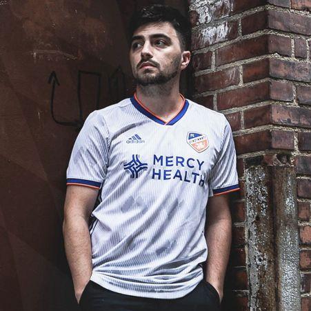FC Cincinnati 2020 adidas Heritage Soccer Jersey, Football Kit, Shirt