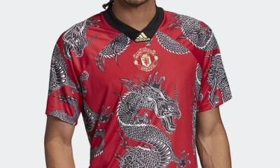 Manchester United 2020 Chinese New Year adidas Soccer Jersey, Shirt, Kit, Camiseta, Trikot, Maillot, Camisa, Dres