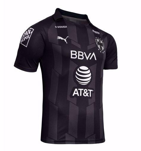 Rayados de Monterrey Black 2020 PUMA Third Soccer Jersey, Shirt, Football Kit, Camiseta de Futbol Tercera
