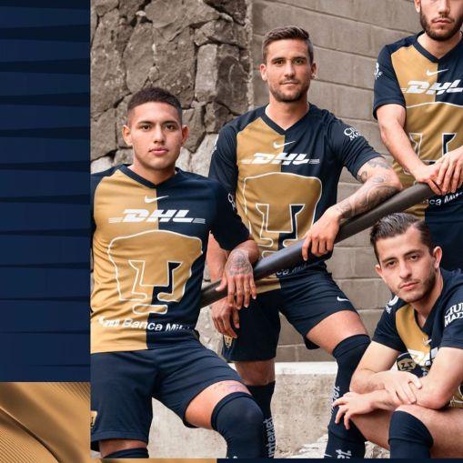 Pumas de la UNAM 2020 Nike Third Soccer Jersey, Footballl Kit, Shirt, Camiseta de Futbol