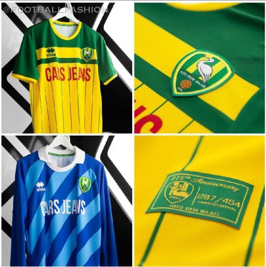 ADO Den Haag 115th Anniversary 2020 Football Kit, Soccer Jersey, Shirt