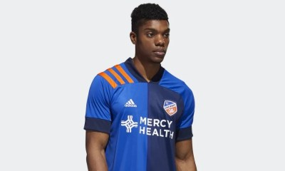 FC Cincinnati 2020 adidas Home Soccer Jersey, Shirt, Football Kit, Camiseta de Futbol MLS