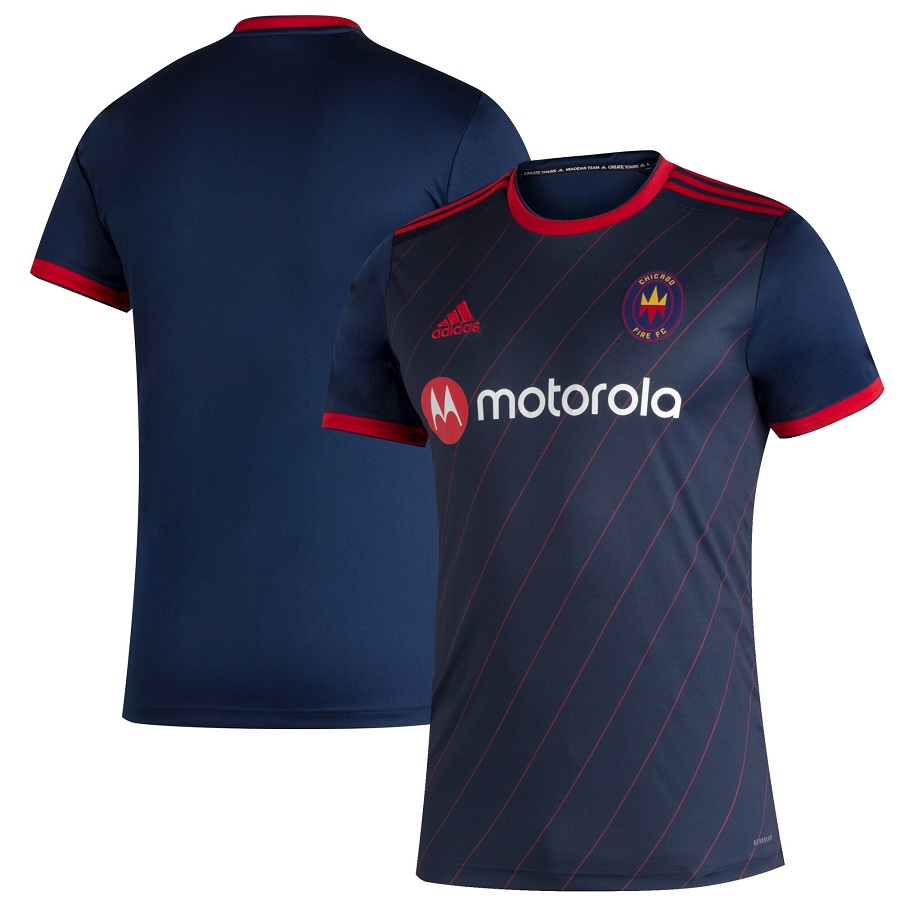 Chicago Fire 2020 Adidas Home Jersey Football Fashion Org