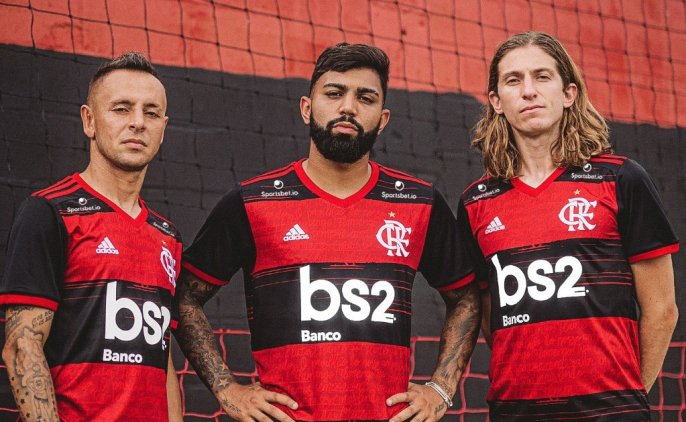 CR Flamengo 2020 2021 adidas Home Soccer Jersey, Football Kit, Shirt, Camisa
