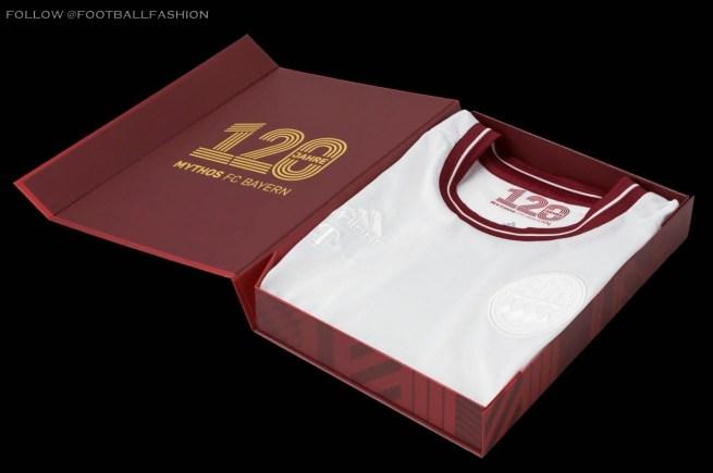 Bayern München 120th Anniversary adidas Football Kit, Soccer Jersey, Shirt, Trikot, Jubiläumstrikot 120 Jahre