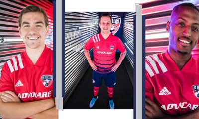 FC Dallas 2020 adidas Home Soccer Jersey, Shirt, Football Kit, Camiseta de Futbol