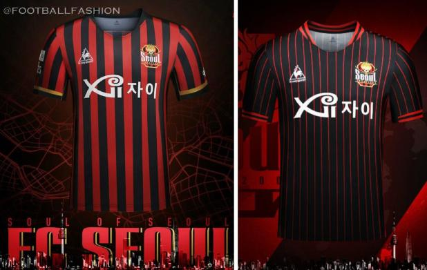 FC Seoul 2020 Home and  AFC Asian Champions League Football Kit, Soccer Jersey, Shirt