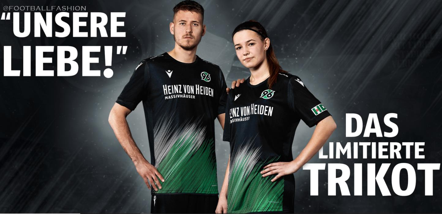 hannover 96 our love 2020 macron kit