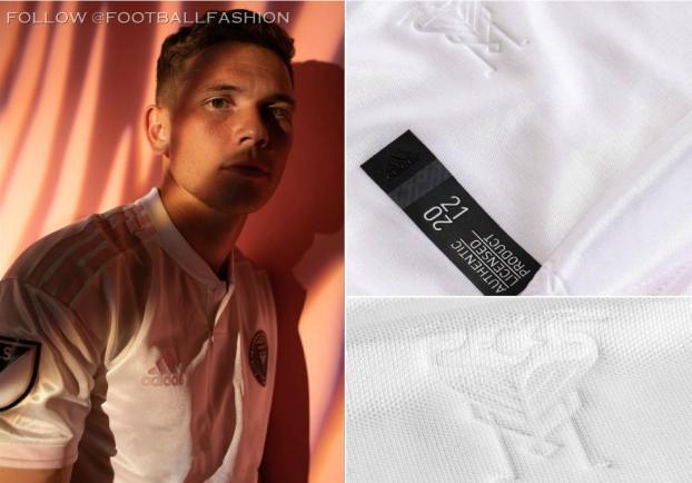Inter Miami CF 2020 adidas White Home Soccer Jersey, Football Kit, Shirt, Camiseta de Futbol MLS