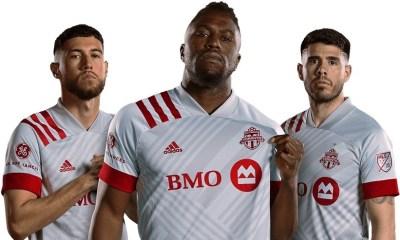 Toronto FC 2020 adidas 'Unity' Away Football Kit, Soccer Jersey, Shirt`