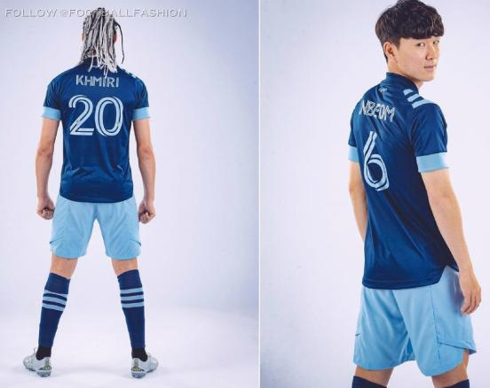 Vancouver Whitecaps 2020 adidas Away Football Kit, Soccer Jersey, Shirt, Camiseta, Camisa, Maillot MLS