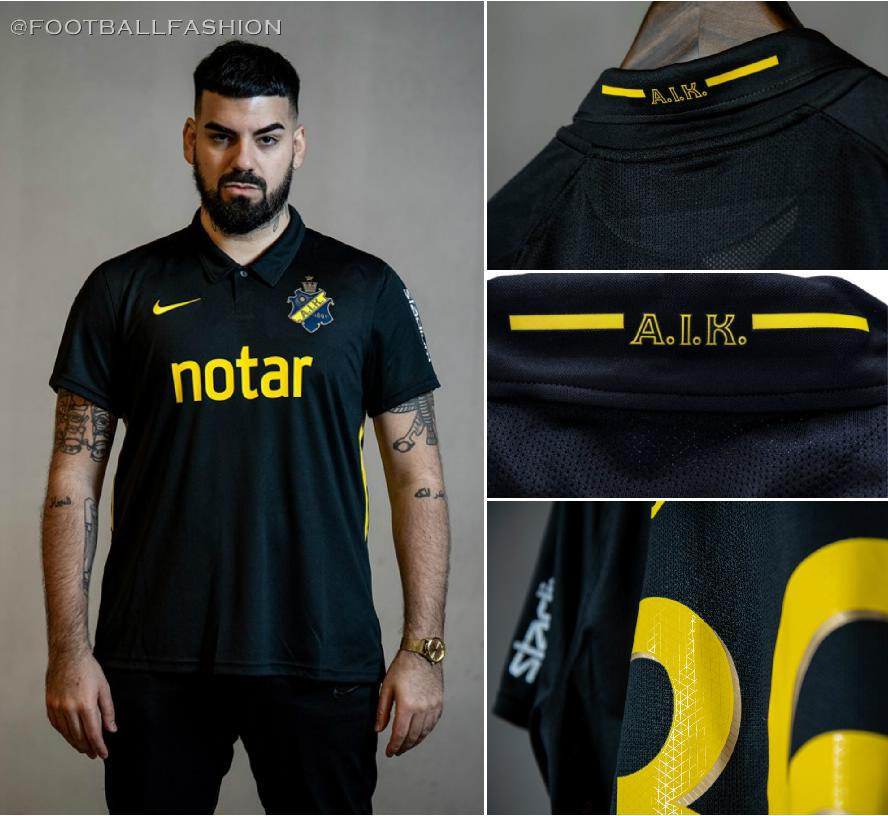 Aik 2020 Nike Home Kit Football Fashion