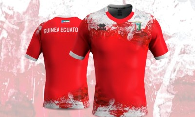 Equatorial Guinea 2020 2021 Erreà Home Football Kit, Soccer Jersey, Shirt, Camiseta de Futbol