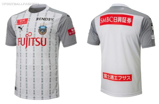 Kawasaki Frontale 2020 PUMA Home and Away Football Kit, Soccer Jersey, Shirt
