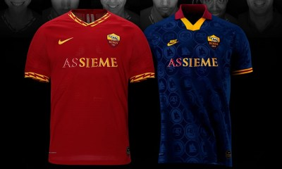 AS Roma Limited Edition 'ASSIEME' Nike Soccer Jersey, Football Shirt, Kit, Maglia, Gara