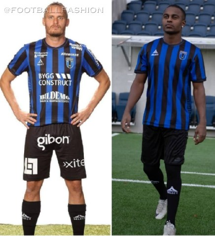 IK Sirius 2020 Select Home Football Kit, Soccer Jersey, Shirt, Matchtröja