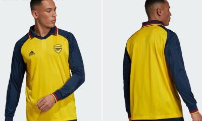 Arsenal FC 1990s-Inspired adidas Icon Football Kit, Soccer Jersey, Shirt