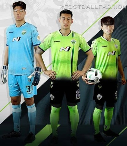 Jeonbuk Hyundai Motors FC 2020 hummel Football Kit, Soccer Jersey, Shirt