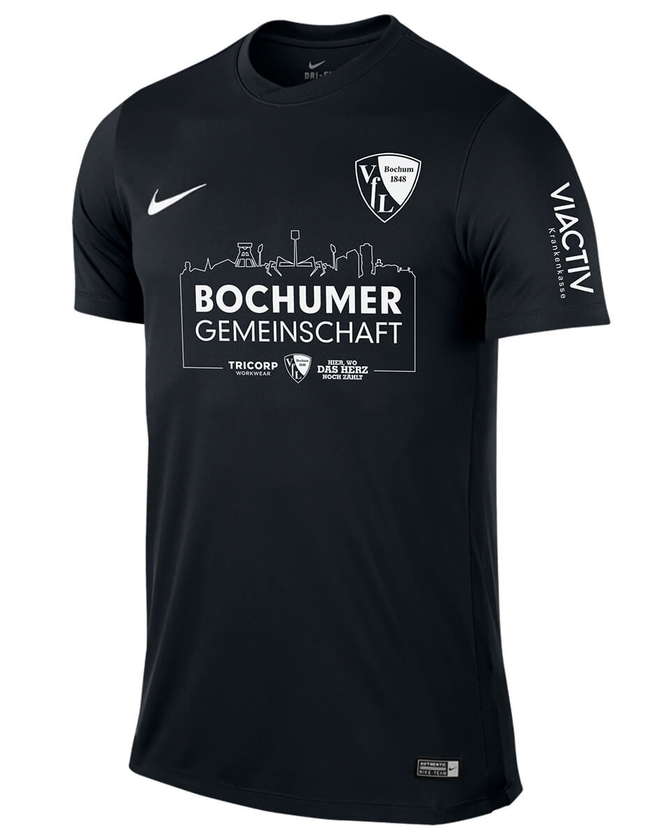 Vfl Bochum 2020 Back In Black Nike Jersey Football Fashion