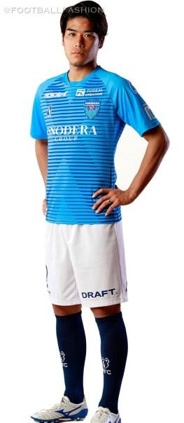 Yokohama FC 2020 Home Soccer Jersey, Shirt, Football Kit