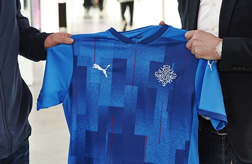 Iceland FA Signs Kit Deal with PUMA
