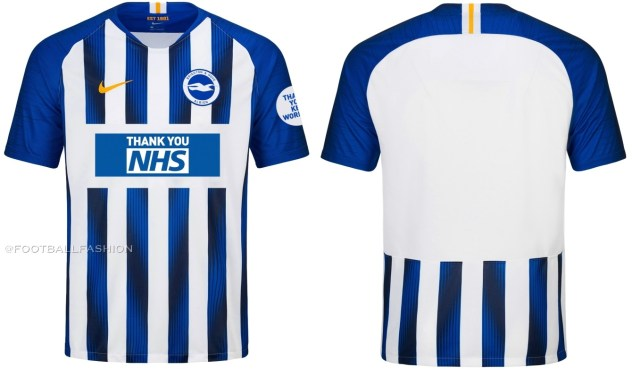 Brighton & Hove Albion 2020 Special Edition Nike Football Kit, Soccer Jersey, Shirt