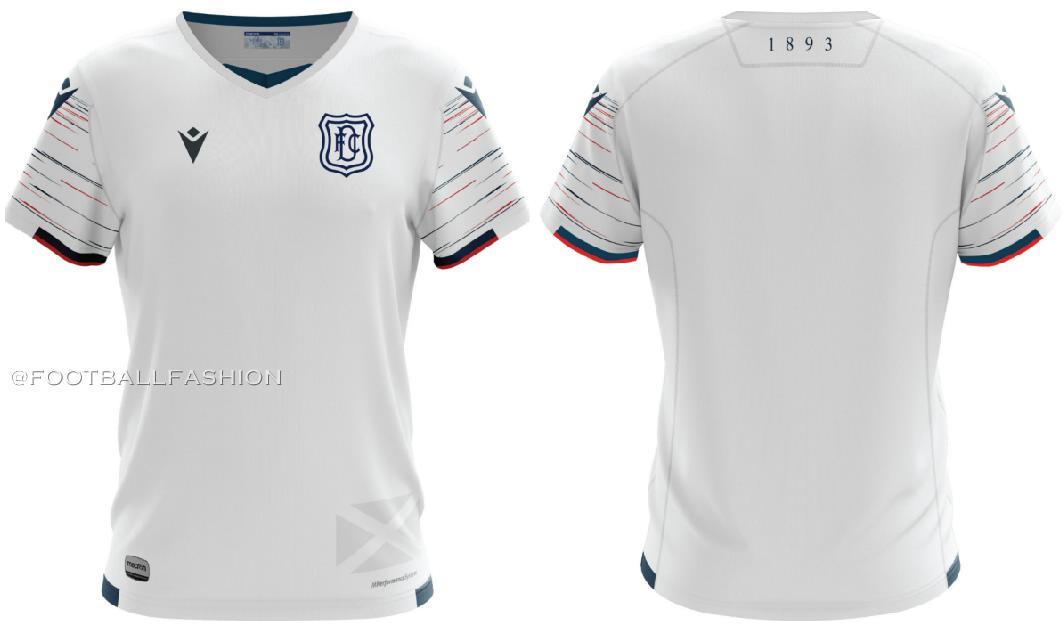 Dundee Fc 2020 21 Macron Away Kit Football Fashion Org