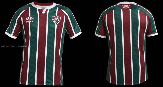Fluminense 2020 2021 Umbro Home and Away Football Kit, Soccer Jersey, Shirt, Camisa