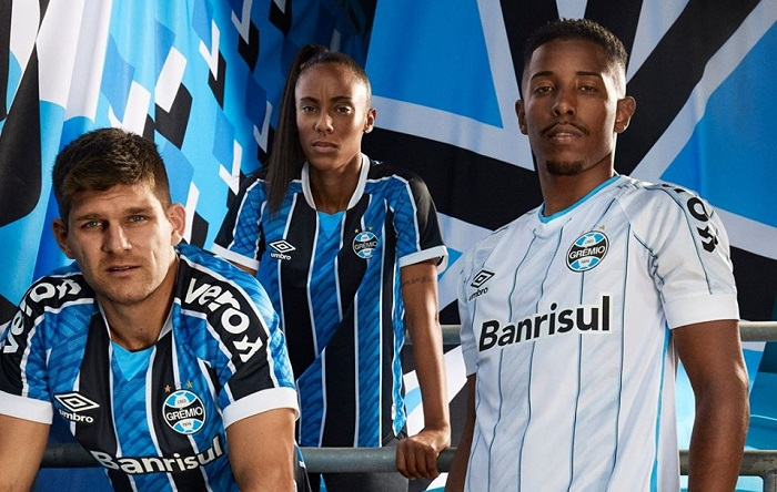 Grêmio 2020/21 Umbro Home and Away Kits - FOOTBALL FASHION