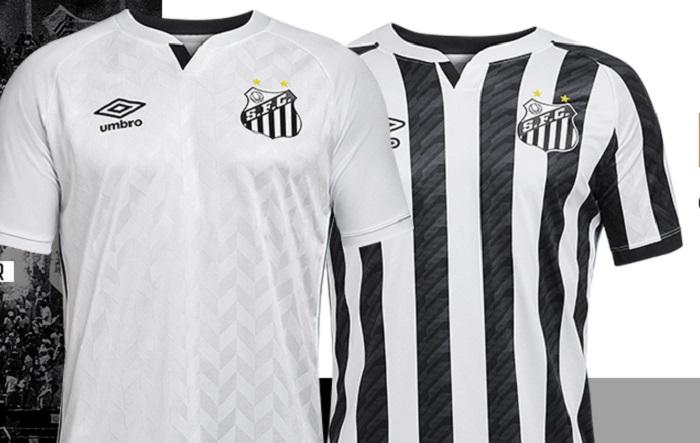Santos FC 2020/21 Umbro Home and Away Kits - FOOTBALL FASHION