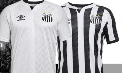 Santos FC 2020 2021 Umbro Home and Away Football Kit, Soccer Jersey, Shirt, Camisa