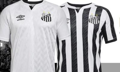 Santos FC 2020 2021 Umbro Home and Away Football Kit, Soccer Jersey, Shirt, Camisa