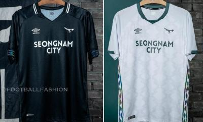 Seongnam FC 2020 Umbro Home and Away K League 1 Football Kit, Soccer Jersey, Shirt