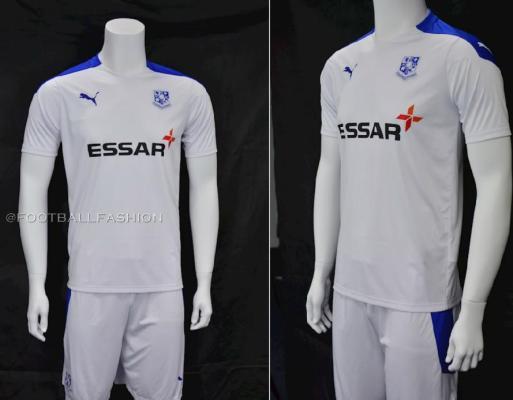 Tranmere Rovers Football Club 2020 2021 PUMA Home Football Kit, Soccer Jersey, Shirt