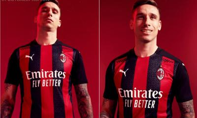 AC Milan 2020/21 PUMA Home Football Kit, 2020/21 Soccer Jersey, 2020-21 Shirt, Maglia, Gara, Camiseta, Camisa, Trikot
