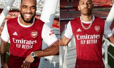Arsenal FC 2020 2021 adidas Home Football Kit, 2020/21 Shirt, 2020-21 Soccer Jersey, Maillot, Camiseta, Camisa, Trikot, Tenue