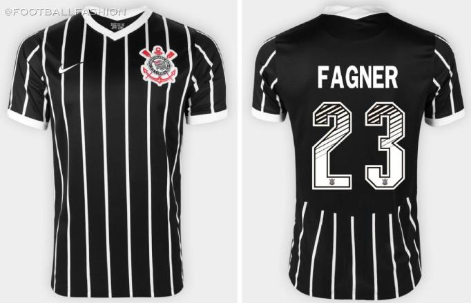 Corinthians 2020 2021 Nike Away Football Kit, 2020/21 Soccer Jersey, 2020-21 Shirt, Camisa II