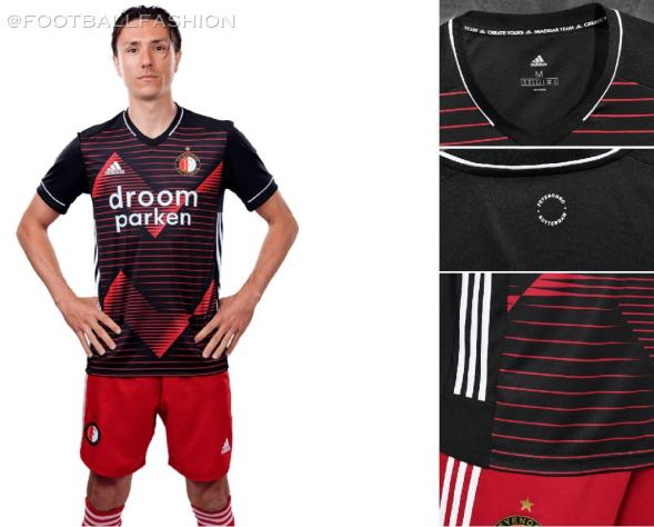 Feyenoord Rotterdam 2020 2021 adidas Away Football Kit, Soccer Jersey, Shirt, Tenue, Uitshirt, Uittenue