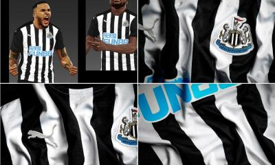 Newcastle United 2020 2021 PUMA Home Football Kit, 2020-21 Soccer Jersey, 2020/21 Shirt, Maillot, Camisa, Camiseta