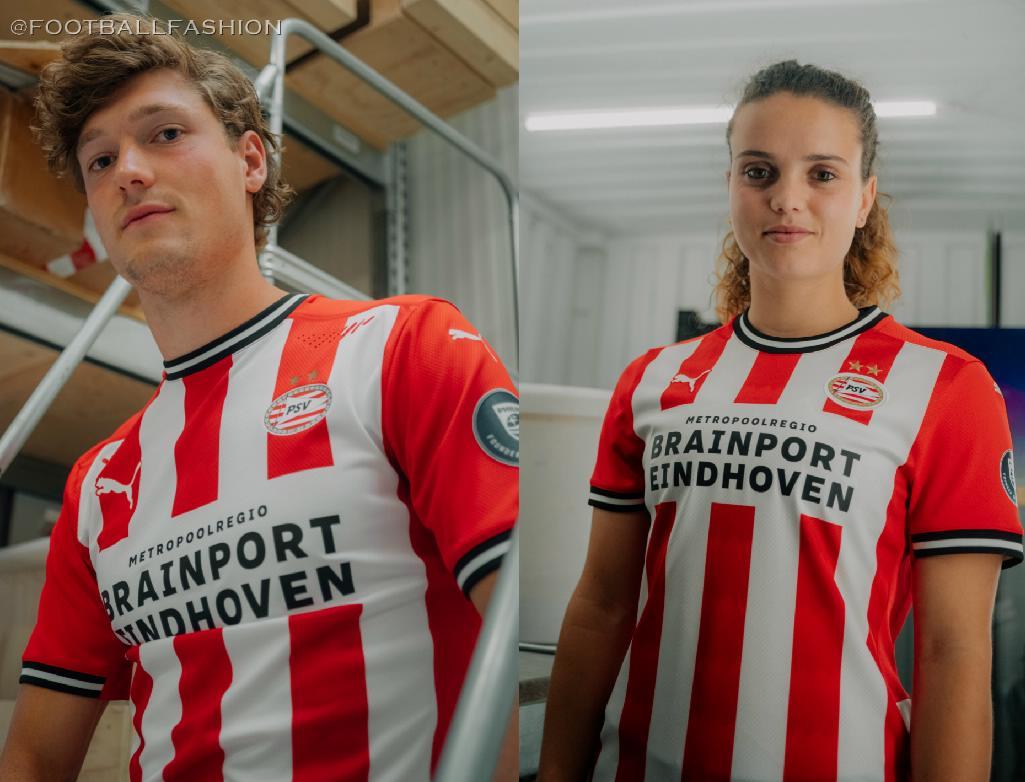 Psv Eindhoven 2020 21 Puma Home Kit Football Fashion