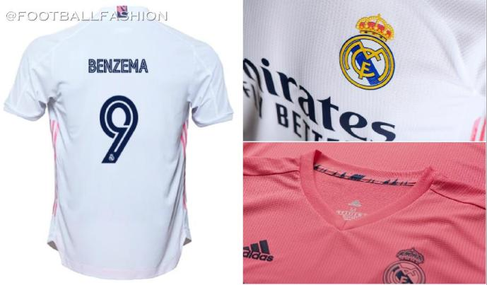 Real Madrid 2020/21 adidas Home and Away Football Kit, 2020-21 Soccer Jersey, 2020/21 Shirt, Camiseta de Futbol, Camisa, Trikot, Maillot
