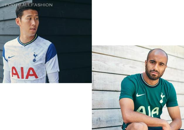 Tottenham Hotspur 2020/21 Nike Home and Away Football Kit, 2020-21 Soccer Jersey, 2020/21 Shirt, Camiseta, Camisa, Maglia, Trikot