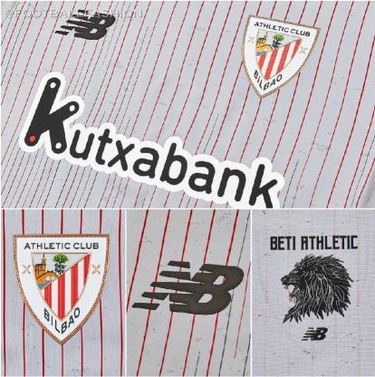 Athletic Club 2020/21 New Balance Away Football Kit, 2020/21 Soccer Jersey, 2020-21 Shirt, Camiseta de Futbol